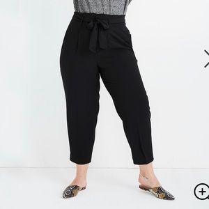 Madewell Paper bag Waist Drapey Pants 18